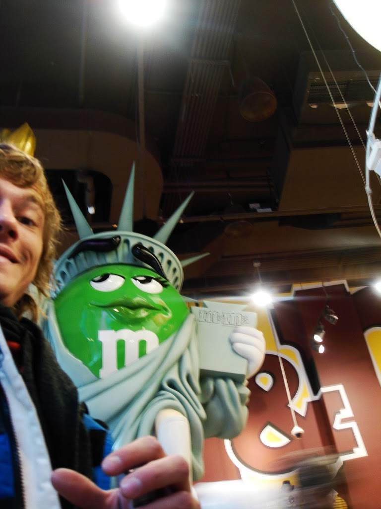 M&M store NYC